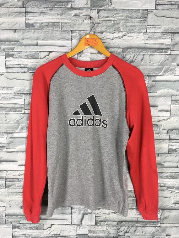 Adidas 90's Sweatshirt Vintage Medium Women Equipment 76bfgYy
