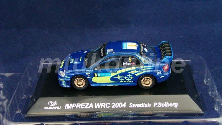 CM'S RALLY CAR COLLECTION | SS4 | SUBARU IMPREZA WRC 2004 SWEDEN | SOLBERG |1/64