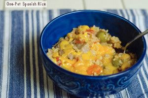 Sometimes a simple, comforting meal is all you need to lift your spirits. This recipe for Spanish Rice is an easy meal to throw together when you're short on time or don't have a lot of energy. You'll get a cheesy, tasty dish that will instantly make you feel better. Making a big batch of this nutritious Spanish rice would be very easy, making this dish perfect for feeding groups or supplying leftovers for the week.