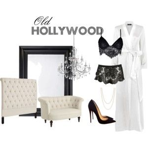 """""""Old Hollywood"""" by cliqueboudoir on Polyvore"""