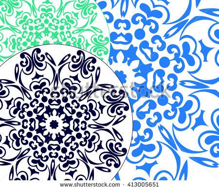 Ornament, pattern, graphic decoration. Islamic, Arabic, Indian. Vintage decorative handmade. Royal vector design element