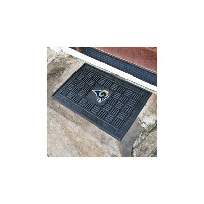 FANMATS NFL - Los Angeles Rams Medallion Door Mat