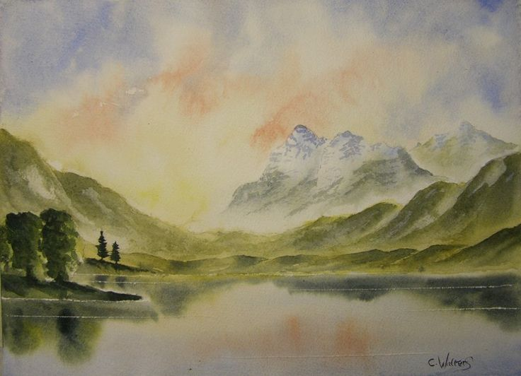Blea Tarn 15 x 11 Watercolour