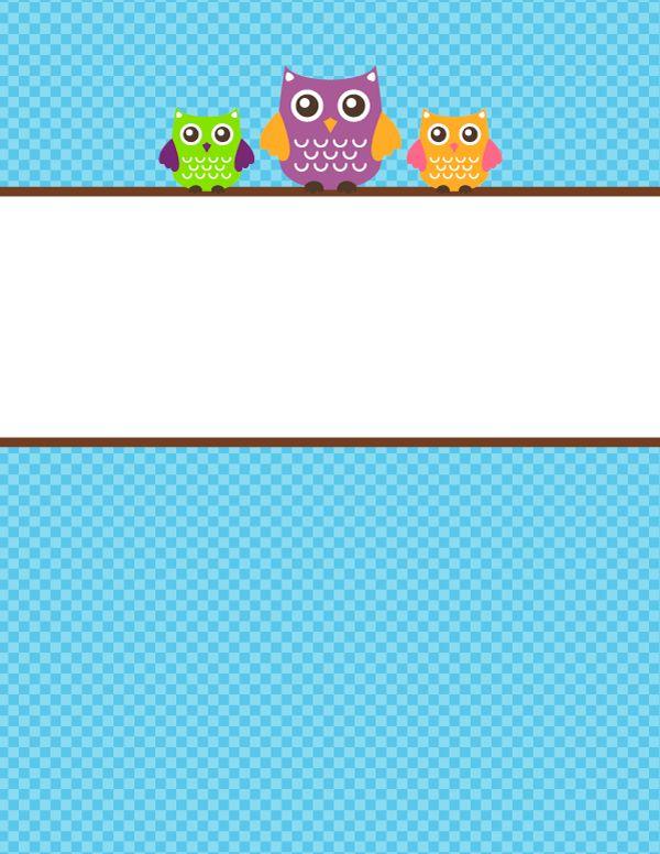 Mer Enn 25 Bra Ideer Om Owl Binder – Bare På Pinterest