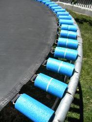 Trampoline pool noodle spring cover repair. DIYeasycrafts.com