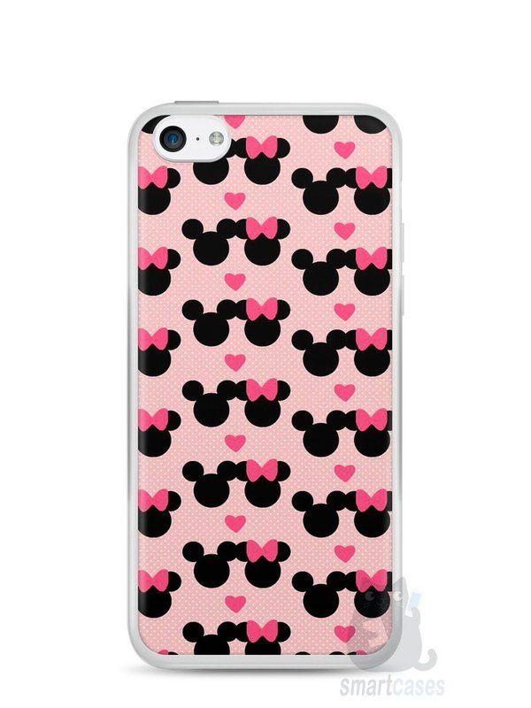 Capa Iphone 5C Mickey e Minnie - SmartCases - Acessórios para celulares e tablets :)