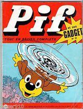 -°- PIF GADGET n°79 -°- VAILLANT n°1317 -°- 1971 LOUP NOIR / ROBIN DES BOIS