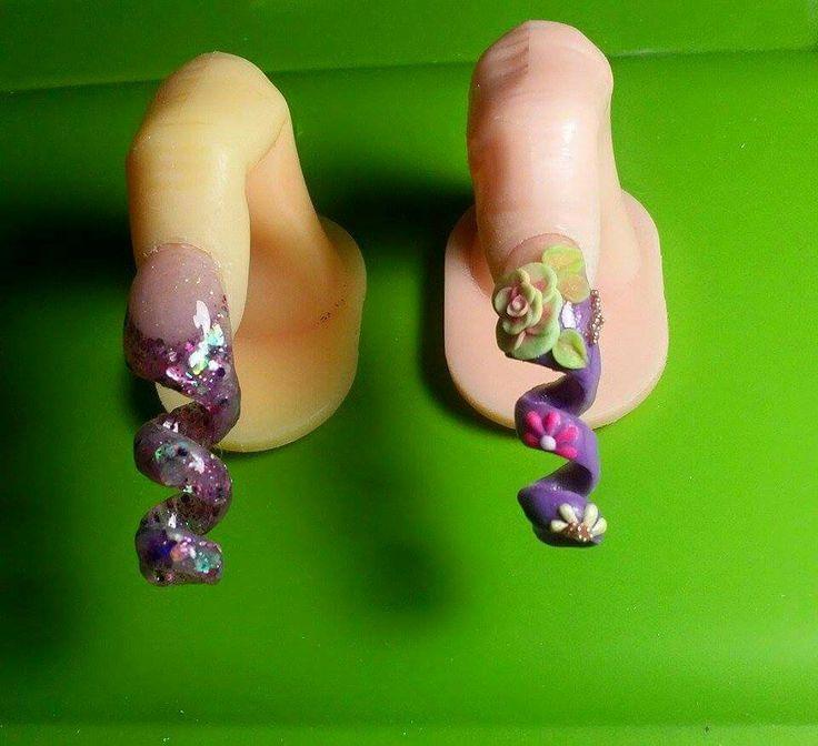 Mejores 87 imágenes de My Work Nails/MI Trabajo Uñas en Pinterest ...