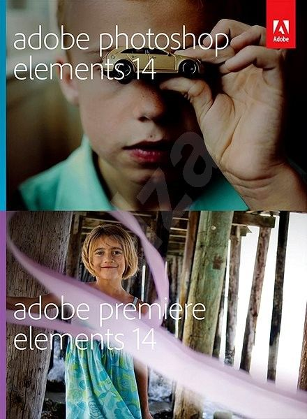 Adobe Photoshop + Premiere Elements 14 CZ