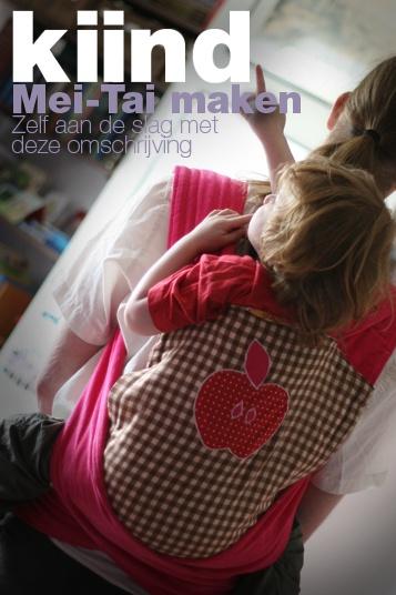 o.k. Misschien geen kleding. Maar wel een ideale drager voor zowel mijn baby als mijn peuter.