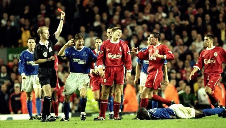 The Dirty Derby: 20 Players Who've Been Shown Red in the Merseyside Derby