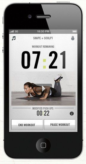 I use this app. 3 days a week and love it! The workouts, even the beginner workouts, are challenging and fun. There are 15 minute targeted workouts as well and bonus workouts once you reach workout time goals.