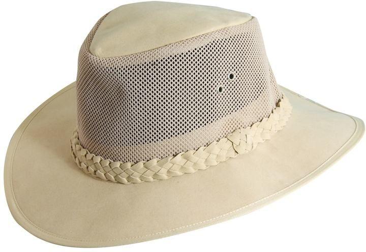 Dorfman-Pacific Company, Mesh-Sided Safari Hat - Men