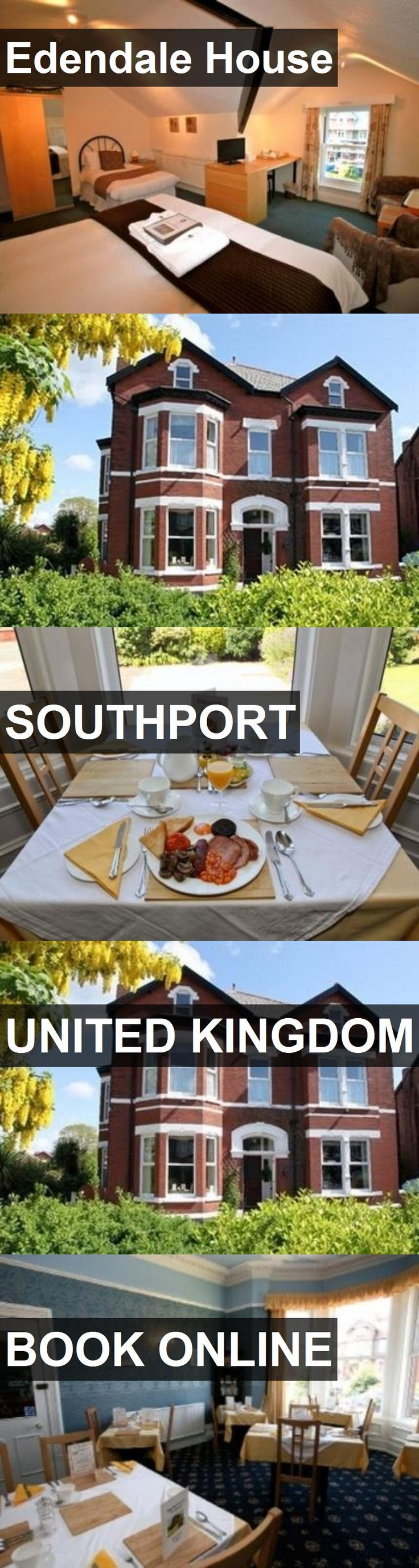 Hotel Edendale House in Southport, United Kingdom. For more information, photos, reviews and best prices please follow the link. #UnitedKingdom #Southport #travel #vacation #hotel