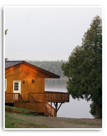 Beautiful Lakeside Fishing Lodge in Canada  http://www.smallmouthbassbook.com/