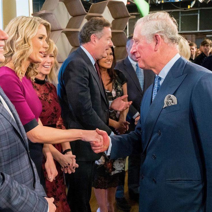 A royal visit today at @itv! #royalty👑 #royalty #princecharles #duchessofcornwall #itv @gmb #gmb #goodmorningbritain