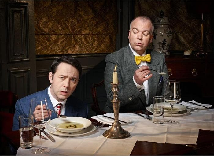 Reese Shearsmith and Steve Pemberton - BAFTA photography by Jay Brooks