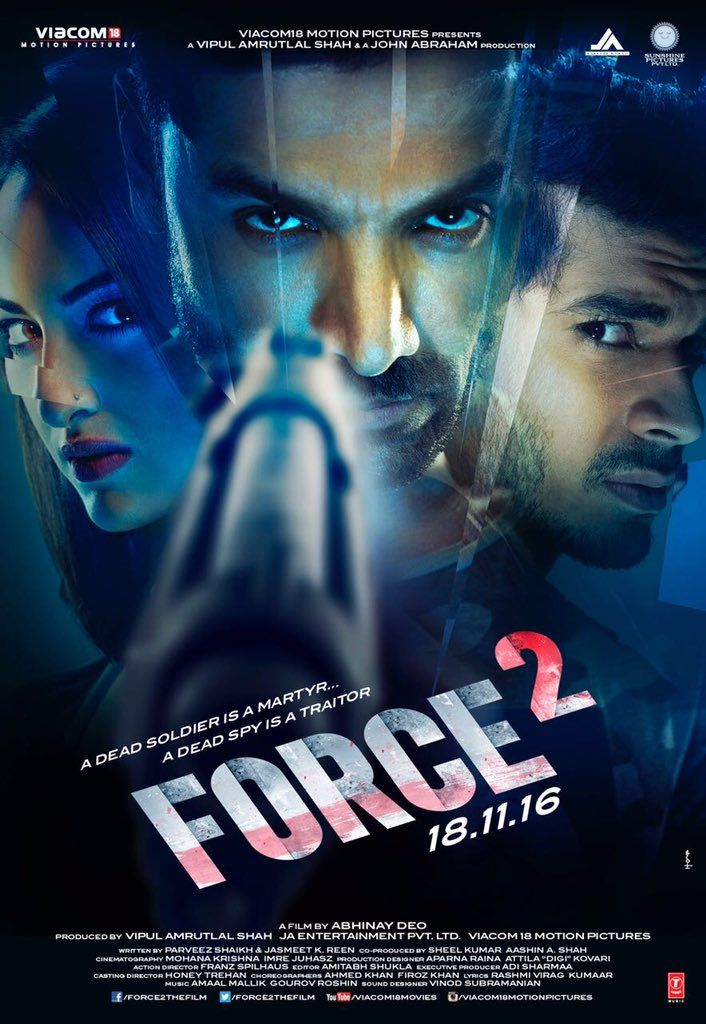 Watch John Abraham performing stunts as an undercover RAW agent in Force 2 movie Official Trailer Ft Sonakshi Sinha