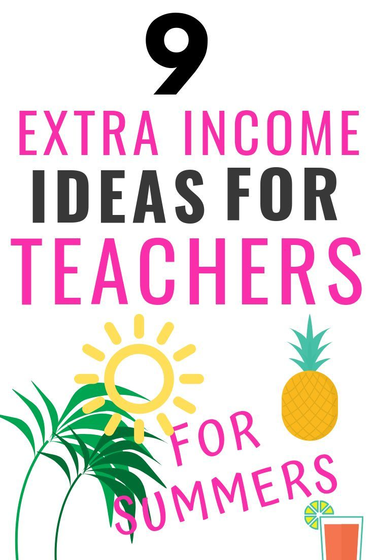 9 summer job ideas for teachers (real and super simple!)
