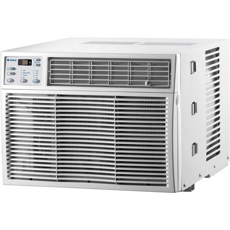 Gree - 10,000 BTU Window Air Conditioner - White