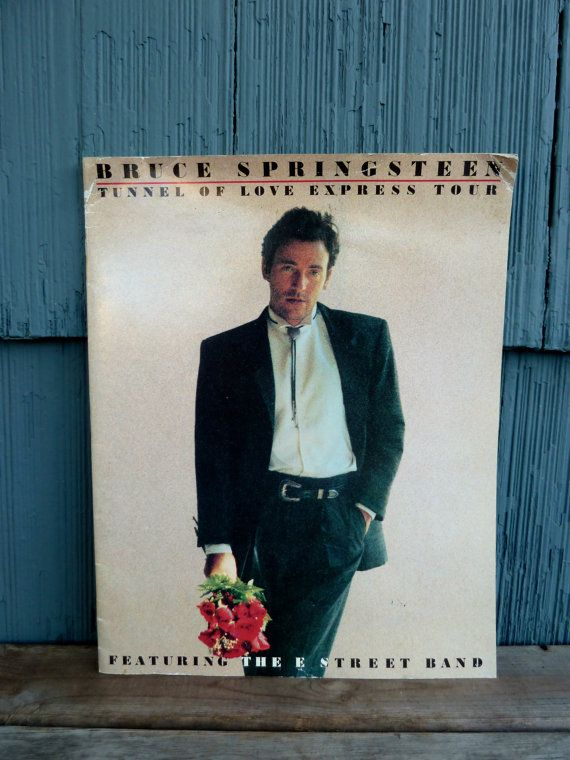 Bruce Springsteen tour book Tunnel of Love Express by OatesGeneral