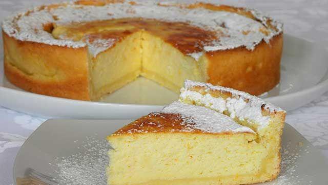 Torta Doce de Ricota