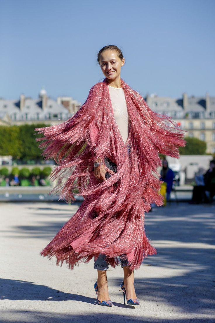 stunning #pink #fringe