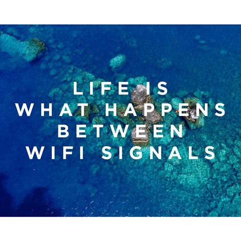 There is no wi-fi in nature, but we promise you'll find a better connection. www.wecreateharmony.com #foodforthought #wordstoliveby #wecreateharmony