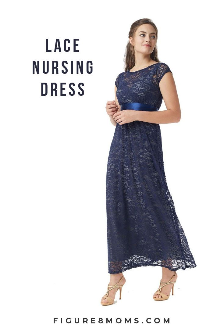 f7e7155999 Pretty classic lace maternity maxi dress is luxurious and perfect for your  baby shower