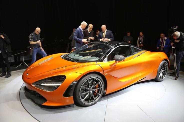 McLaren 720s Launching