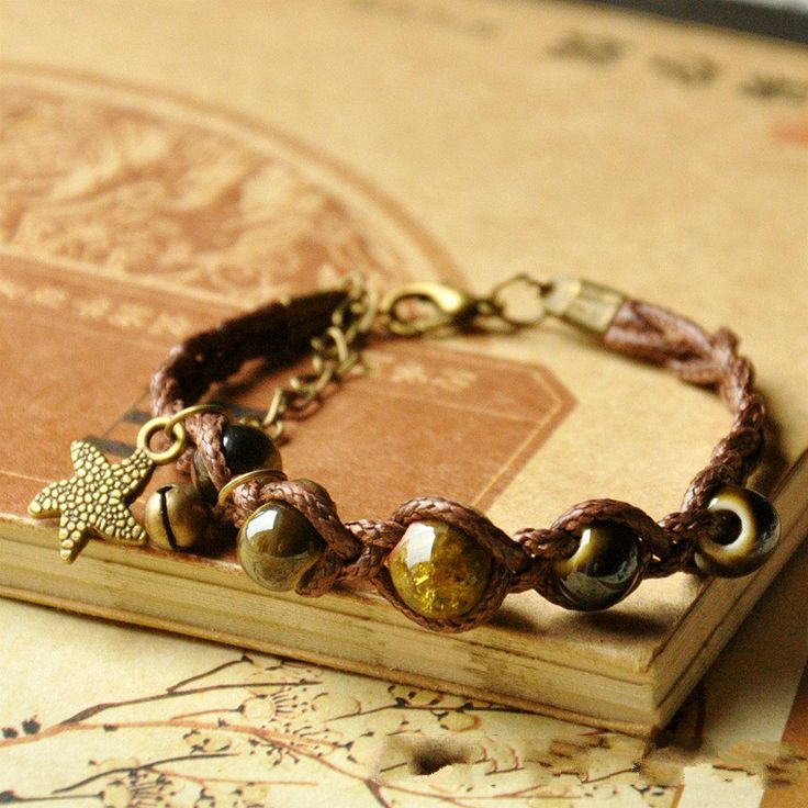 Handmade Chinese Folk Ceramic Hand Chain Delicate Color Porcelain Beads Beach  Jewelry Gift Women Casual Bangles Bracelet