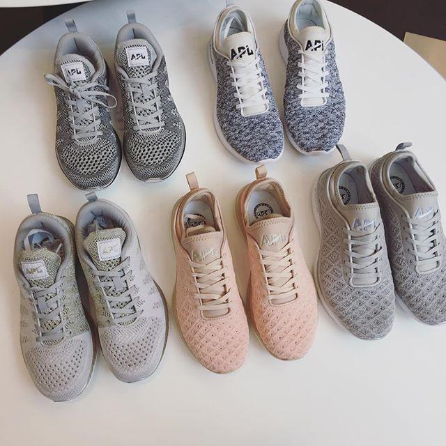 The APL sneaker lineup.