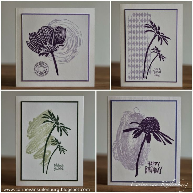 Corine's Gallery: simple cards with Art Journey and Darkroom Door