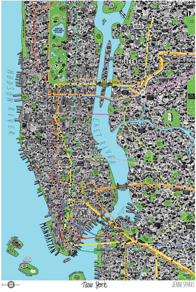 Best 25 Map Of New York Ideas On Pinterest City: Map Of New York For Visitors At Usa Maps