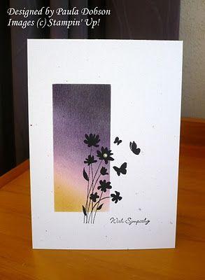 Stampinantics simple sympathy card