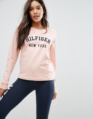 Tommy Hilfiger – Sweatshirt mit Logo