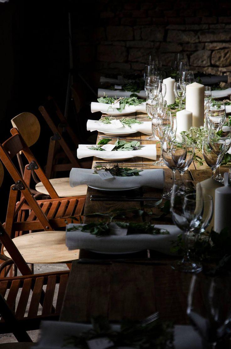 Industrial wedding Prague - wedding design