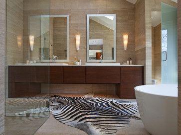 Best BATHROOM CREAM BROWN Images On Pinterest Bath Ideas - Animal print bathroom decor for small bathroom ideas