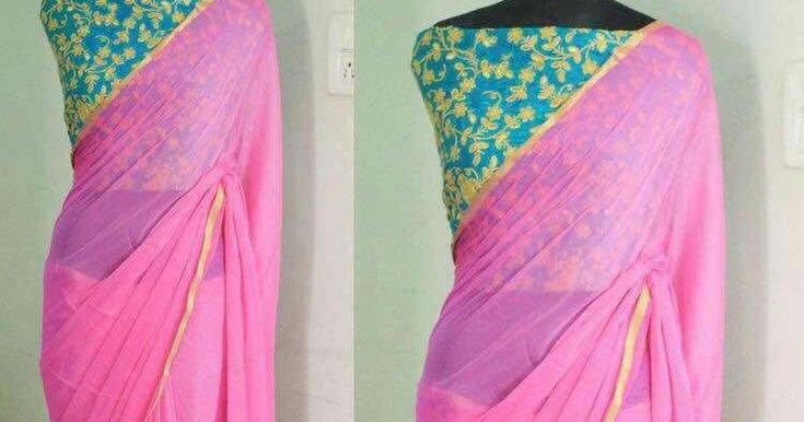 Pure Georgette Saree With Heavy Embroidered Unstitch Blouse | Buy Online Pure Georgette Sarees  http://ift.tt/2sJNI2n  Pure Georgette Saree With Heavy Embroidered Unstitch Blouse  Georgette  Pure Georgette Saree With Heavy Embroidered Unstitch Blouse  http://ift.tt/2sao8GT
