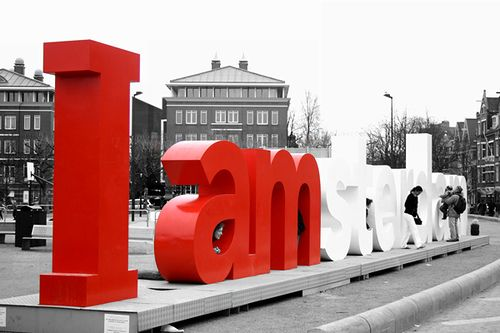 I Amsterdam sign (Dec 2006) | I Amsterdam sign on Museumplei… | Flickr