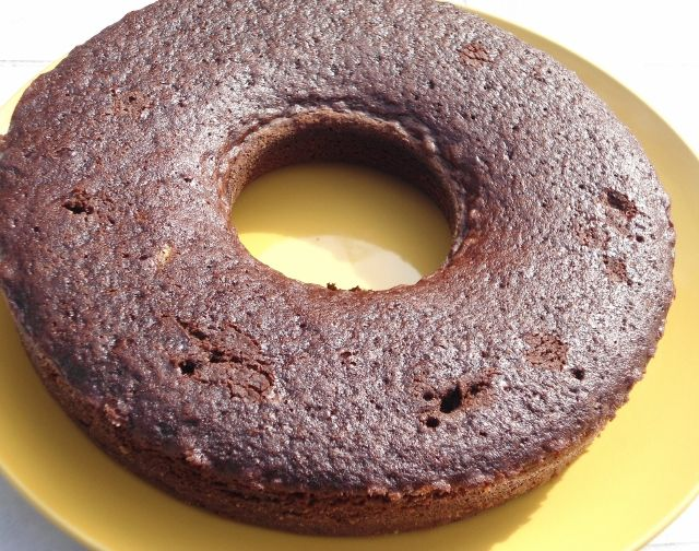 Torta al latte e cacao con il fornetto Versilia