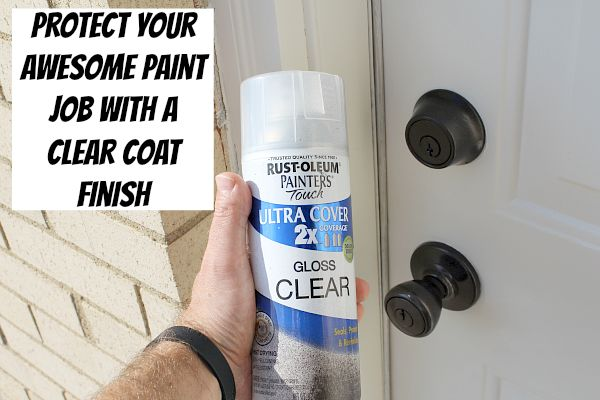An Amazingly Easy Way to Refinish Door Hardware
