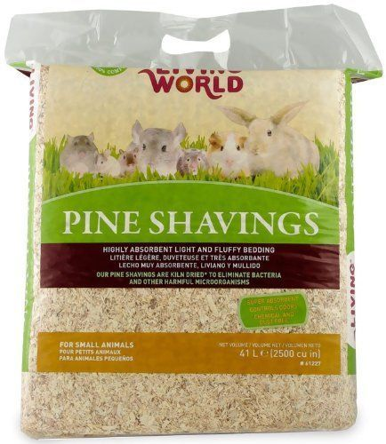 Living World Pine Shavings, 2500-Cubic Inch #LivingWorld