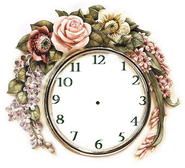 reloj flores