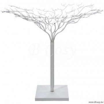 "J-Line Kale witte metalen boom wit metaal 180H <span style=""font-size: 0.01pt;"">Jline-by-Jolipa-35142-boom-sierboom-arbre-online-sierbomen-tree-countryliving-country-cottage-style-home-accessor</span>"