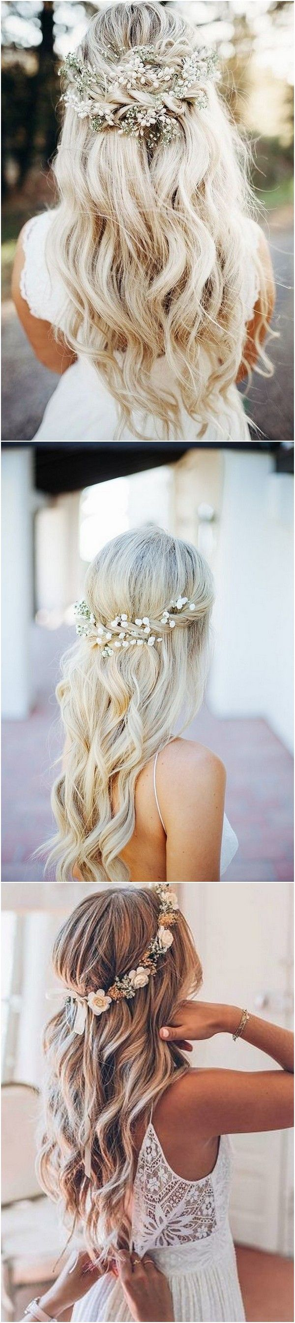 20 Gorgeous Wedding Hairstyles with Flowers for Fall