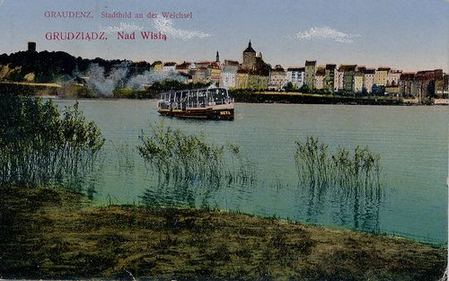 https://flic.kr/p/Jm8aS | Grudziadz | On the Wisla River; dated 1922?