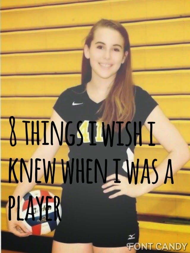 Eh, Life's Smudgy : Volleyball: 8 things I wish I knew when I played