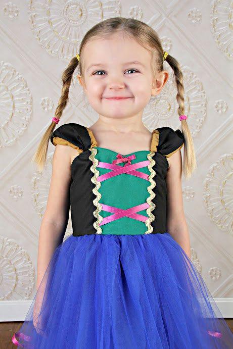 ANA TUTU dress princess dress for birthday party dress or portrait on Etsy, $58.00