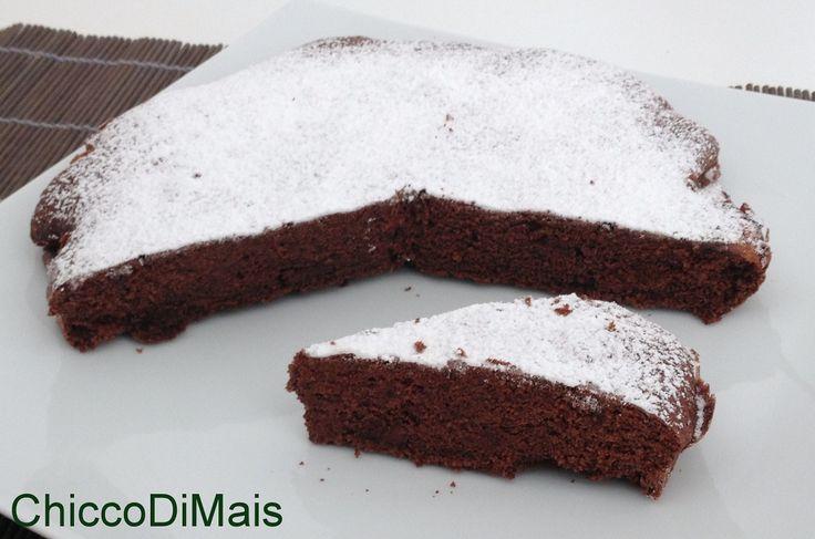 Torta+al+cioccolato+con+la+fecola+(ricetta+senza+glutine)